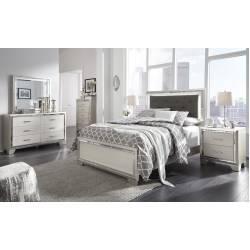 B410 Lonnix 4PC SETS Full UPH Panel Bed