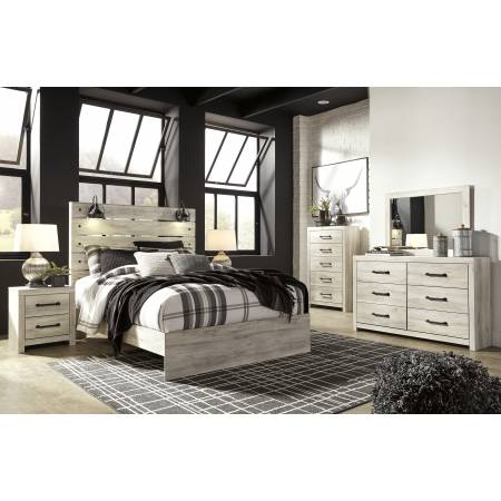 B192 Cambeck 4PC SETS Queen Panel Bed