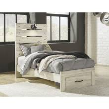 B192 Cambeck Twin Panel Storage Bed