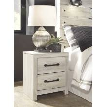 B192 Cambeck Two Drawer Night Stand