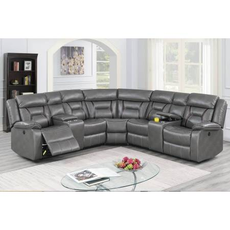 F86611 Power Motion Sectional