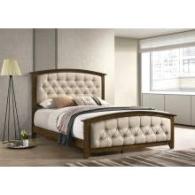 300974Q UPHOLSTERED QUEEN BED