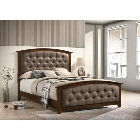 300973F UPHOLSTERED FULL BED