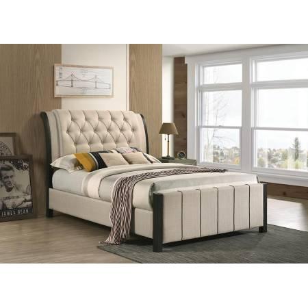 300968F UPHOLSTERED FULL BED