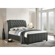 300967Q UPHOLSTERED QUEEN BED