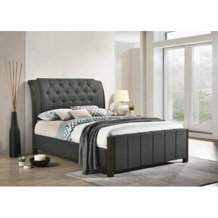 300967F UPHOLSTERED FULL BED