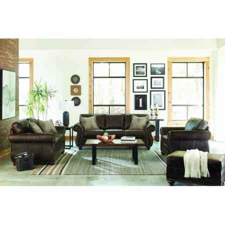 508891-S3 Graceville 3-Piece Living Room Set Brown