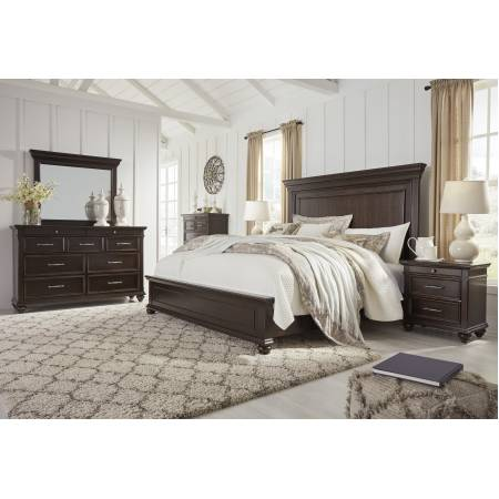 B788 Brynhurst 4PC SETS Cal King Panel Bed