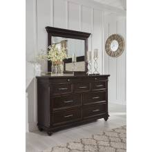 B788 Brynhurst Dresser + Bedroom Mirror
