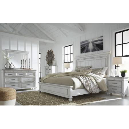 B777 Kanwyn 4PC SETS King Panel Bed