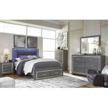 B214 Lodanna 4PC SETS Queen Storage Panel Bed