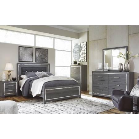 B214 Lodanna 4PC SETS Queen Panel Bed