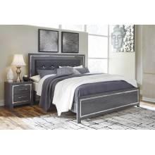 B214 Lodanna King Panel Bed