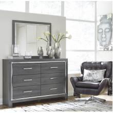 B214 Lodanna Dresser + Bedroom Mirror