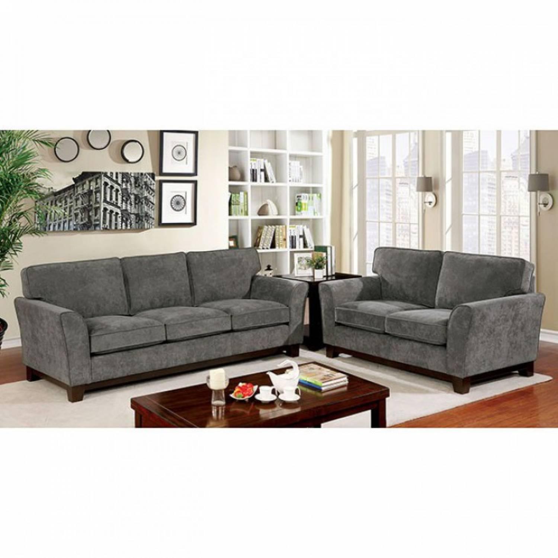 Cm6954gy Sf Lv 2pc Sets Caldicot Sofa