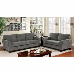 CM6954GY-SF-LV 2PC SETS CALDICOT SOFA + LOVE SEAT