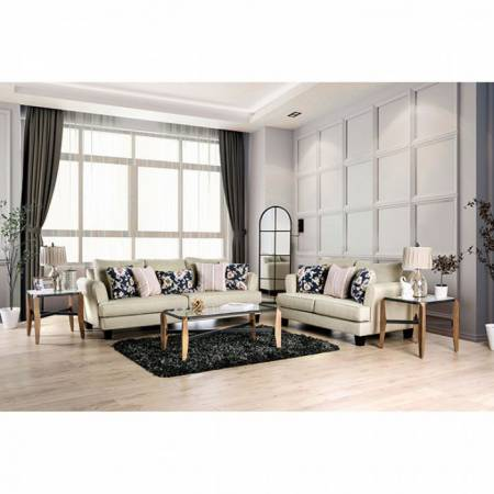 SM1281-SF 2PC SETS DENBIGH SOFA + LOVESEAT