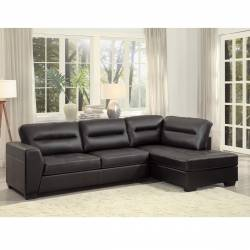 9924DBR* 2-Piece Sectional with Right Chaise Terza