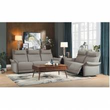9819TP-2PWH+3PWH Power Double Reclining Sofa and Love Seat with Power Headrests Linette