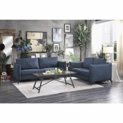 9539BU-2+3 Sofa and Love Seat Bianca