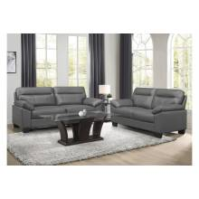 9537DGY-2+3 Sofa and Love Seat Denizen