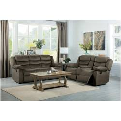 9526BR-2+3 Double Reclining Sofa and Love Seat Discus