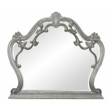 1681-6 Brigette Mirror - Silver-Gray