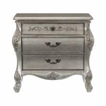 1681-4 Brigette Night Stand - Silver-Gray