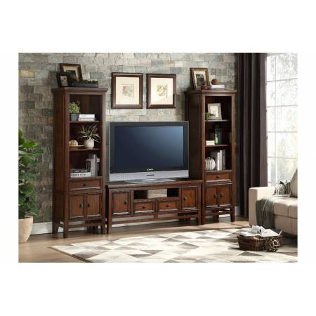16490-81T+S*2 81' TV Stand and Side Pier Frazier Park