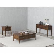 1649-04+05+30 End Table + Sofa Table + Cocktail Table With Functional Drawer Set Frazier Park