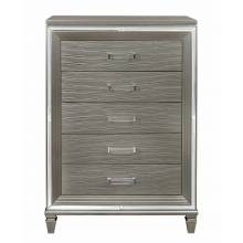 1616-9 Tamsin Chest - Silver-Gray Metallic