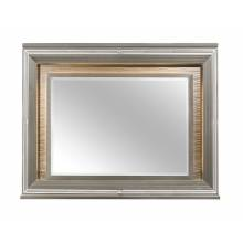 1616-6 Tamsin Mirror with LED Lighting - Silver-Gray Metallic