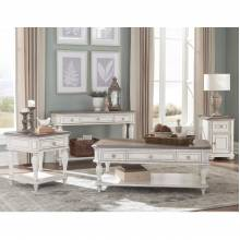 1614-02 Chairside Table + End Table + Sofa Table With Functional Drawer a Cabinet Willowick