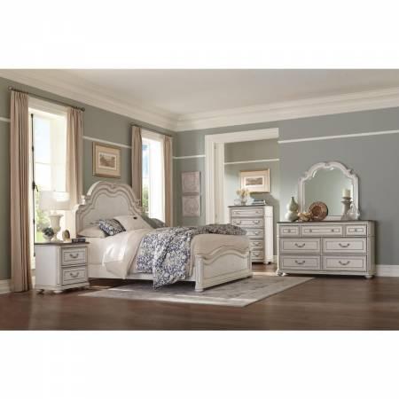 1614-1* Queen Panel Bed Willowick