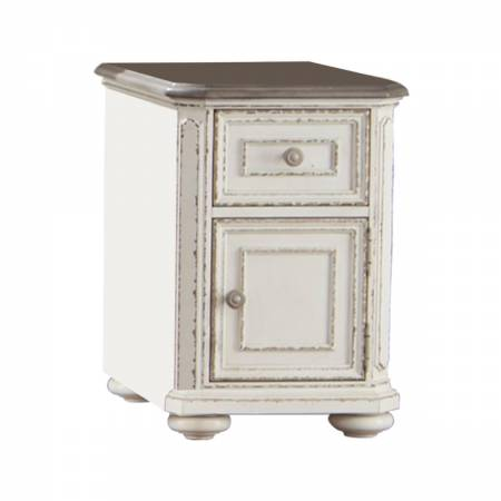 1614-02 Chairside Table With Functional Drawer a Cabinet Willowick