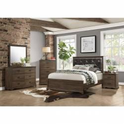 1609K-CKGr California King Bedroom Set Beaver Creek