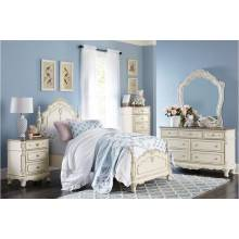 1386NW-1Gr Queen Bedroom Set Cinderella