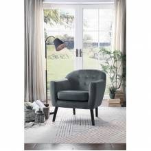 1127GY-1 Qill Accent Chair, Gray