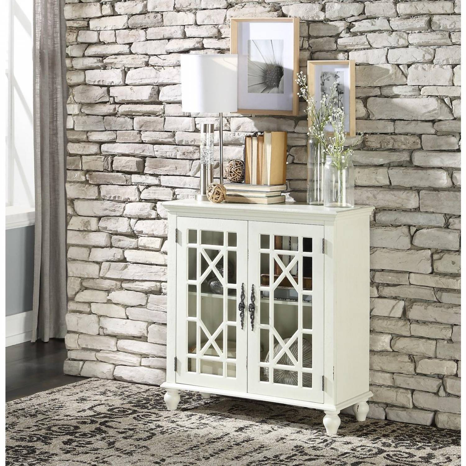 1002a70wh Accent Chest Antique White 3a