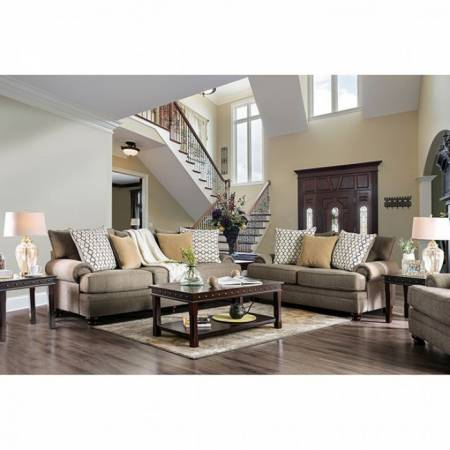 SM5164 AUGUSTINA 2PC SETS SOFA + LOVE SEAT