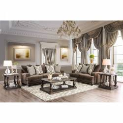 SM3075 PAULINE 2PC SETS SOFA + LOVE SEAT