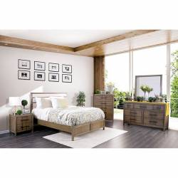 CM7580A BERENICE 4PC SETS QUEEN BED