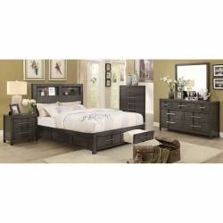 CM7500GY KARLA 4PC SETS QUEEN BED