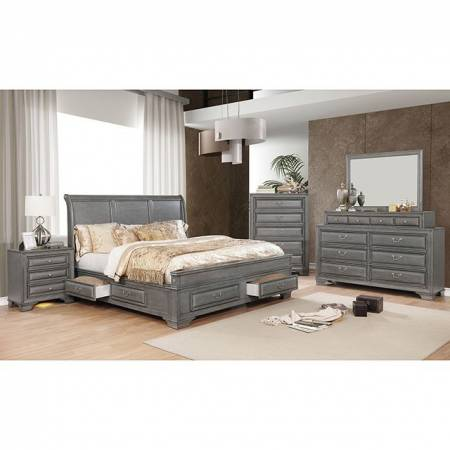 CM7302GY 4PC SETS BRANDT QUEEN BED