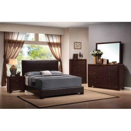 300261T Conner Casual Dark Brown Twin Bed