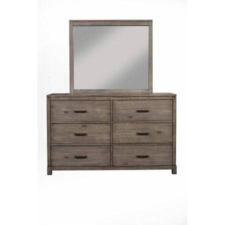 1700-03 Sydney Weathered Grey 6-Drawer Dresser