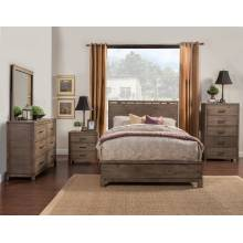 SYDNEY 4 pc (F. Bed, N/S, Dresser, Mirror)