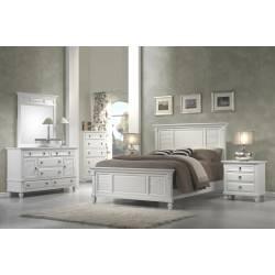 Winchester 4 pc (CK Bed, N/S, Dresser, Mirror)