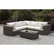 CM-OS2128-SET13 SOMANI L-SECTIONAL + COFFEE TABLE