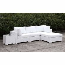 CM-OS2128WH-SET13 SOMANI II L-SECTIONAL W/ RIGHT CHAISE + COFFEE TABLE